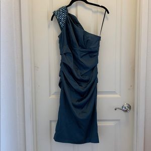 NWT The Limited One Shoulder Dress, 2